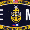 EMCS-SS Submarine Senior Chief Electrician's Mate Patch | Center Detail