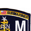 EMCS-SS Submarine Senior Chief Electrician's Mate Patch | Upper Right Quadrant