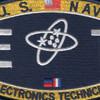 Electronics Technician Rating Patch - ET | Center Detail