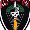 E Company 1st Battalion 75th Ranger Regiment Patch   Center Detail