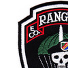 E Company 1st Battalion 75th Ranger Regiment Patch   Upper Left Quadrant