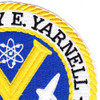 DLG-17 USS Harry E Yarnell  Patch   Upper Right Quadrant