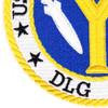 DLG-17 USS Harry E Yarnell  Patch   Lower Left Quadrant