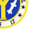 DLG-17 USS Harry E Yarnell  Patch   Lower Right Quadrant