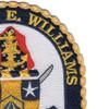 DDG-95 USS James E Williams Patch | Upper Right Quadrant