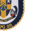 DDG-95 USS James E Williams Patch | Lower Right Quadrant