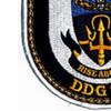 DDG-92 USS Momsen Patch   Lower Left Quadrant