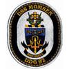 DDG-92 USS Momsen Patch