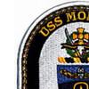 DDG-92 USS Momsen Patch   Upper Left Quadrant