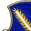 504th Airborne Infantry Regiment Patch Strike Hold Gold Metalic Thread   Upper Left Quadrant