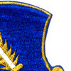 504th Airborne Infantry Regiment Patch Strike Hold Gold Metalic Thread   Upper Right Quadrant