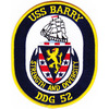 DDG-52 USS Barry Patch