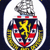 DDG-52 USS Barry Patch | Center Detail