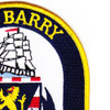 DDG-52 USS Barry Patch | Upper Right Quadrant