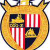 DDG-31 USS Decatur Patch | Center Detail
