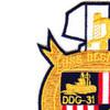 DDG-31 USS Decatur Patch | Upper Left Quadrant