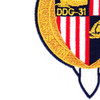 DDG-31 USS Decatur Patch | Lower Left Quadrant