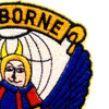 504th Airborne Infantry Regiment Patch Airborne 504 Devils | Upper Right Quadrant