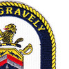 DDG-107 USS Gravely Patch | Upper Right Quadrant