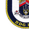 DDG-107 USS Gravely Patch | Lower Left Quadrant