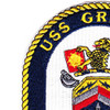 DDG-107 USS Gravely Patch | Upper Left Quadrant
