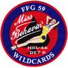 HSL-46 Det 6 Patch Miss Behavin Wildcards