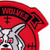 HSL-40 Patch Air Wolves | Upper Right Quadrant