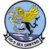 HS-9 Patch Griffins Blue