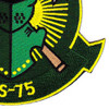 HS-75 Patch Emerald Knights | Lower Right Quadrant