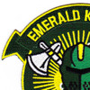 HS-75 Patch Emerald Knights | Upper Left Quadrant