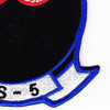 HS-5 Anti-Submarine Warfare Aviation Squadron Patch | Lower Right Quadrant