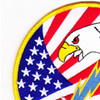 HS-14 Patch Chargers Red White Blue | Upper Left Quadrant