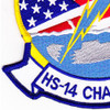 HS-14 Patch Chargers Red White Blue | Lower Left Quadrant