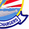 HS-14 Patch Chargers Red White Blue | Lower Right Quadrant