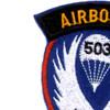 503rd Airborne Infantry Regiment Patch - C Version | Upper Left Quadrant