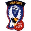 503rd Airborne Infantry Regiment Patch - C Version