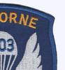 503rd Airborne Infantry Regiment Patch   Upper Right Quadrant