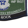 503rd Airborne Infantry Regiment Military Occupational Specialty MOS Rating Patch | Lower Right Quadrant