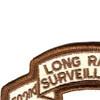 502nd LRS Infantry Desert Patch   Upper Left Quadrant