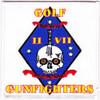 Golf Company Second Battalion 7th Marine Patch