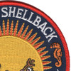 Golden Shellback Patch | Upper Right Quadrant