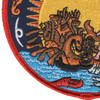Golden Shellback Patch | Lower Left Quadrant