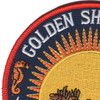 Golden Shellback Patch | Upper Left Quadrant