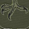 502nd Infantry Strike Patch OD Green   Center Detail