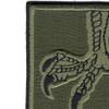 502nd Infantry Strike Patch OD Green   Upper Left Quadrant