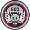 502nd Airborne Infantry Regiment Widowmaker Patch