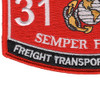 Freight Transportation Clerk 3121 MOS Patch | Lower Left Quadrant