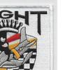 Flight Test Sabre Jet Patch | Upper Right Quadrant
