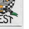Flight Test Sabre Jet Patch | Lower Right Quadrant