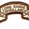 501st LRS Airborne Infantry Desert Patch | Center Detail